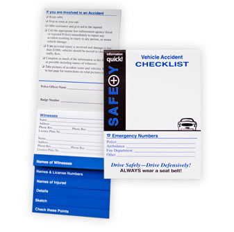 Vehicle Accident Checklist