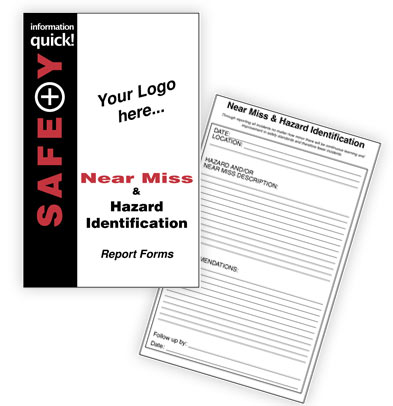 Near Miss and Hazard Identification Report Forms